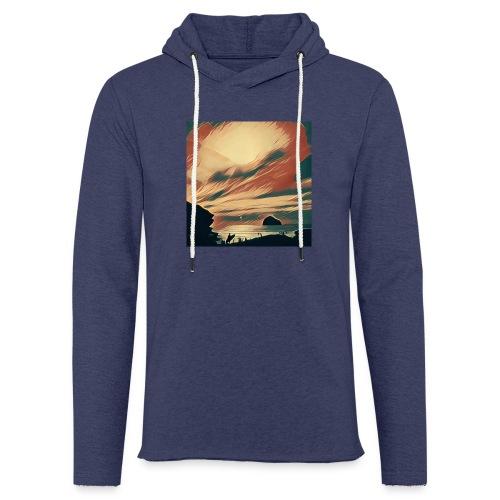Light Unisex Sweatshirt Hoodie - Water,Surfing,Surf,Seaside,Sea,Scene,Cornwall,Beach