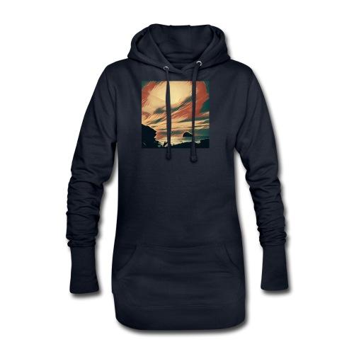 Hoodie Dress - Water,Surfing,Surf,Seaside,Sea,Scene,Cornwall,Beach