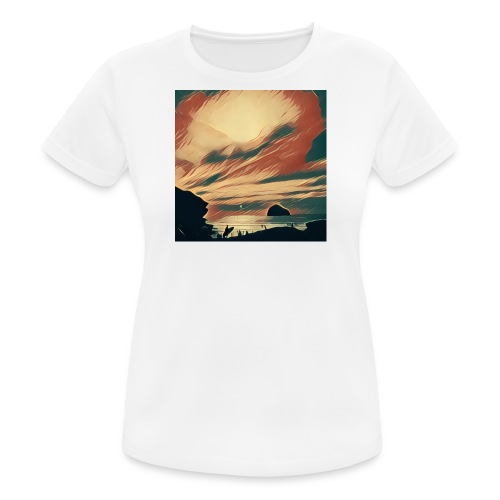 Women's Breathable T-Shirt - Water,Surfing,Surf,Seaside,Sea,Scene,Cornwall,Beach