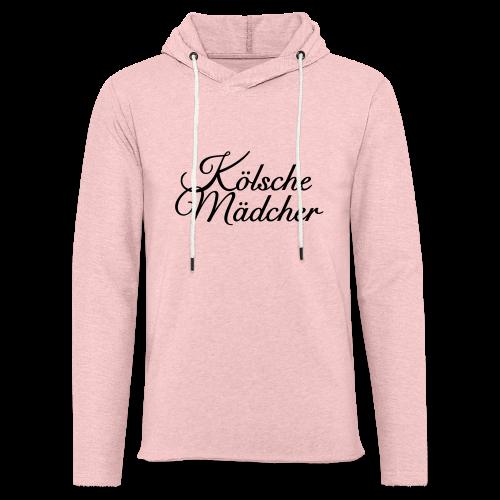 Kölsche Mädcher Classic (Weiß) Mädchen aus Köln - Leichtes Kapuzensweatshirt Unisex