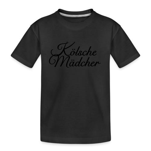 Kölsche Mädcher Classic (Weiß) Mädchen aus Köln - Teenager Premium Bio T-Shirt