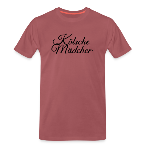 Kölsche Mädcher Classic (Weiß) Mädchen aus Köln - Männer Premium T-Shirt