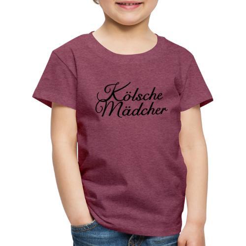 Kölsche Mädcher Classic (Weiß) Mädchen aus Köln - Kinder Premium T-Shirt