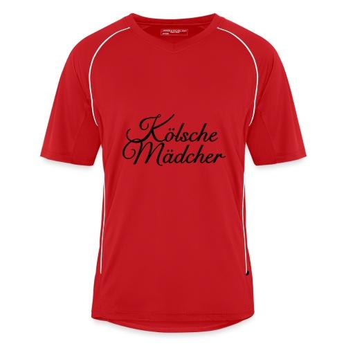Kölsche Mädcher Classic (Weiß) Mädchen aus Köln - Männer Fußball-Trikot