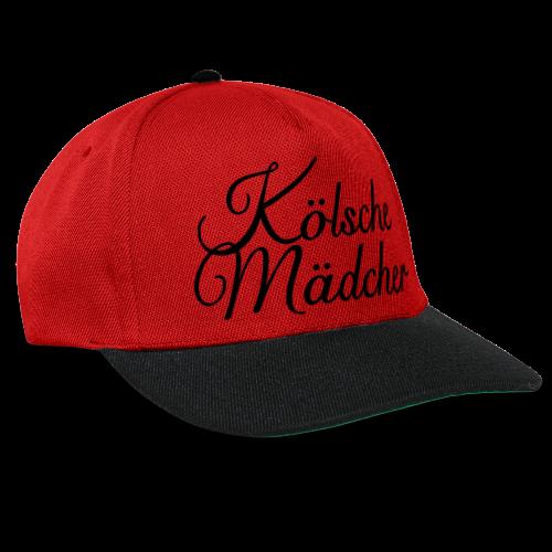 Kölsche Mädcher Classic (Weiß) Mädchen aus Köln - Snapback Cap