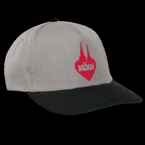 I love Köln mit Herz und Dom - Snapback Cap