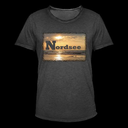Nordsee - Männer Vintage T-Shirt