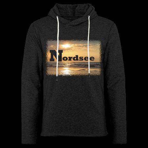 Nordsee - Leichtes Kapuzensweatshirt Unisex
