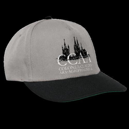 CCAA Colonia Dom St.Martin (Vintage S/W) Köln Skyline Römisch - Snapback Cap