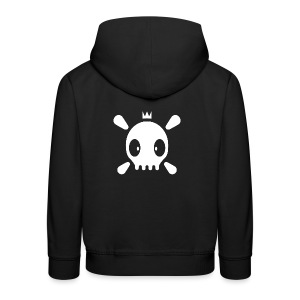 Henri the Skull top - Kinder Premium Hoodie