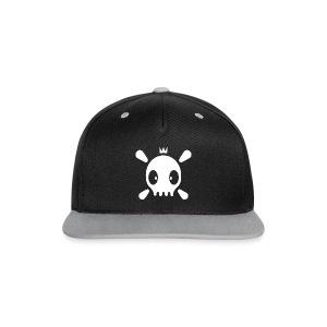 Henri the Skull top - Kontrast Snapback Cap
