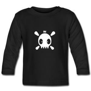 Henri the Skull top - Baby Langarmshirt