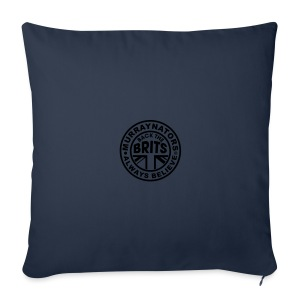 Back The Brits. Mens T. Blue. Large Sizes. - Sofa pillow cover 44 x 44 cm