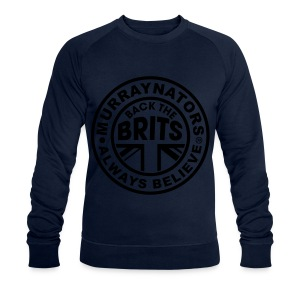 Back The Brits. Mens T. Blue. Large Sizes. - Men's Organic Sweatshirt by Stanley & Stella