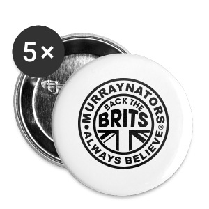 Back The Brits. Mens T. Blue. Large Sizes. - Buttons large 56 mm