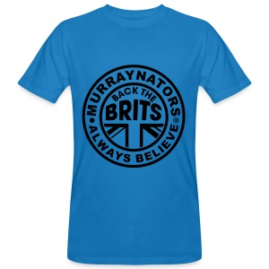 Back The Brits. Mens T. Blue. Large Sizes. - Men's Organic T-shirt