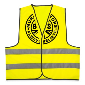 Back The Brits. Mens T. Blue. Large Sizes. - Reflective Vest
