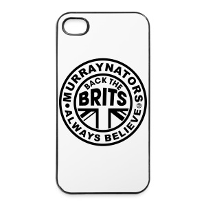 Back The Brits. Mens T. Blue. Large Sizes. - iPhone 4/4s Hard Case