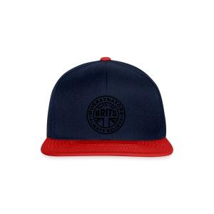 Back The Brits. Mens T. Blue. Large Sizes. - Snapback Cap