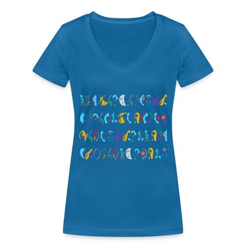 Sad Jokes I. - Frauen Bio-T-Shirt mit V-Ausschnitt von Stanley & Stella