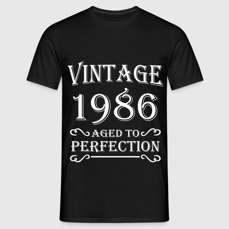 Vintage 1986 - Aged to perfection T-shirts - Mannen T-shirt