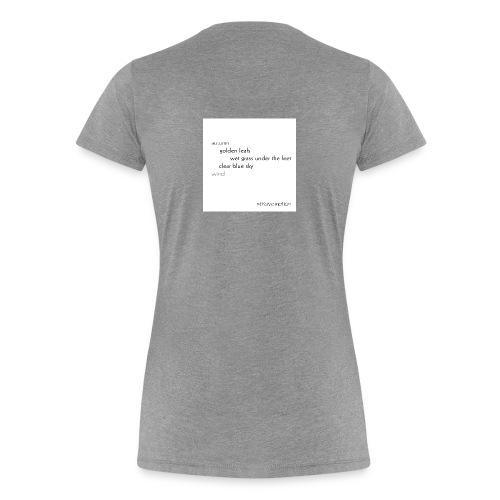 Autumn collection - Golden Leafs - Frauen Premium T-Shirt
