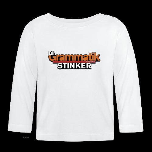 Din Grammatik Stinker (unisex) - Langærmet babyshirt
