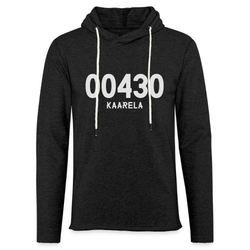 00430 KAARELA - Kevyt unisex-huppari
