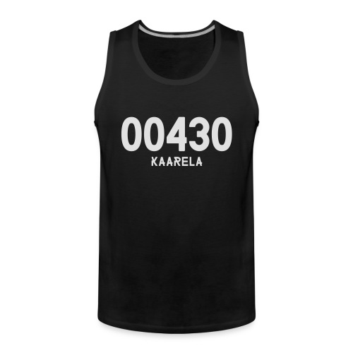 00430 KAARELA - Miesten premium hihaton paita