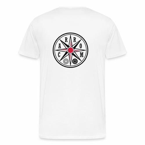 Carrom-Bio-Stoffbeutel-Ca03 - Männer Premium T-Shirt