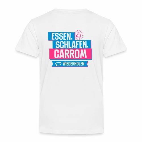 Carrom-Bio-Stoffbeutel-Ca05 - Kinder Premium T-Shirt