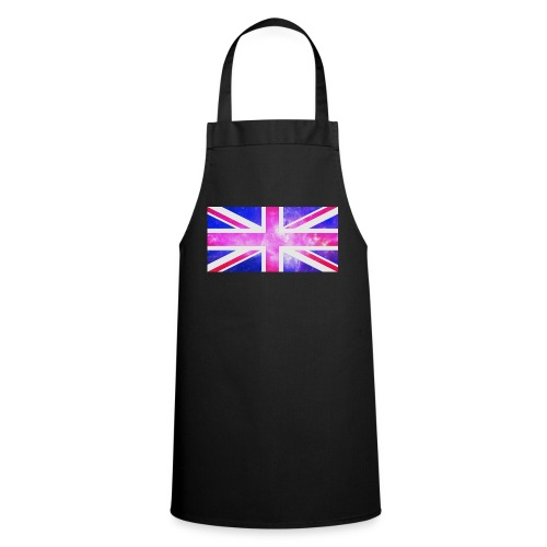 Union Jack Full Galaxy - Cooking Apron