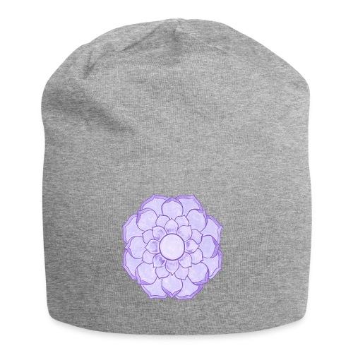 Lauren's Lotus Flower Mandala - Jersey Beanie