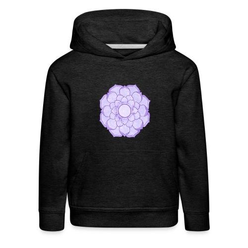 Lauren's Lotus Flower Mandala - Kids' Premium Hoodie