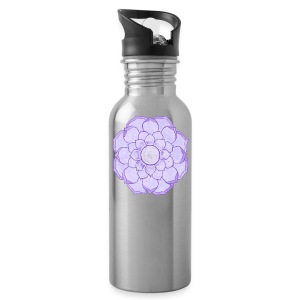 Lauren's Lotus Flower Mandala - Water Bottle
