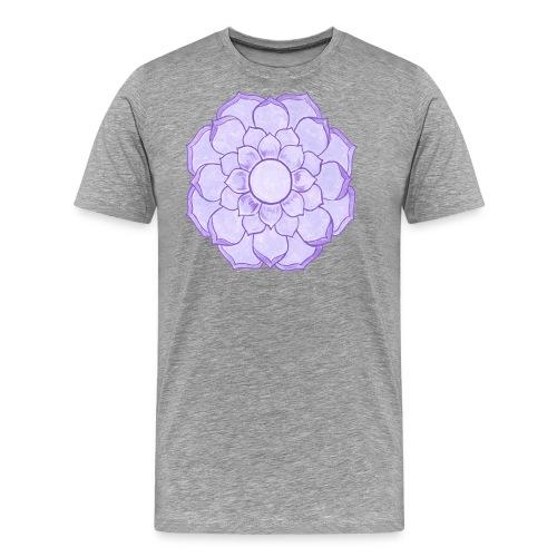 Lauren's Lotus Flower Mandala - Men's Premium T-Shirt