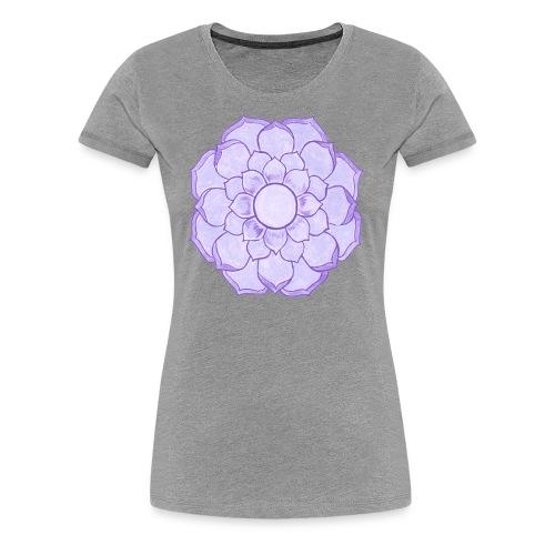 Lauren's Lotus Flower Mandala - Women's Premium T-Shirt