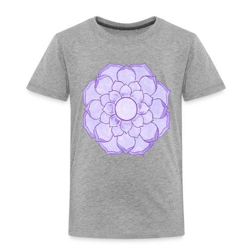 Lauren's Lotus Flower Mandala - Kids' Premium T-Shirt