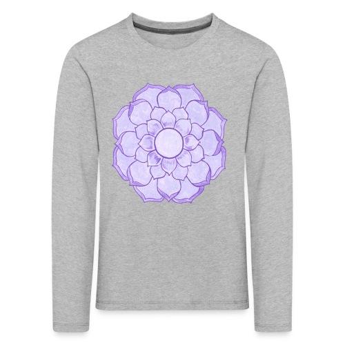 Lauren's Lotus Flower Mandala - Kids' Premium Longsleeve Shirt