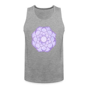 Lauren's Lotus Flower Mandala - Men's Premium Tank Top