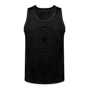 Lotus Flower Mandala - Men's Premium Tank Top