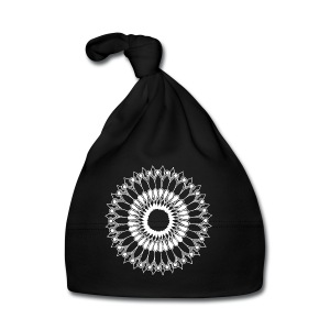 White Lace Sunflower Mandala - Baby Cap