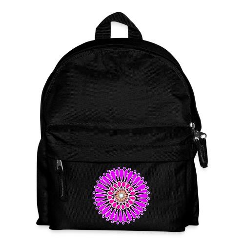 Pink & Purple Sunflower Mandala - Kids' Backpack