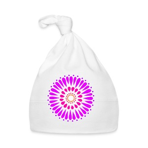 Pink & Purple Sunflower Mandala - Baby Cap