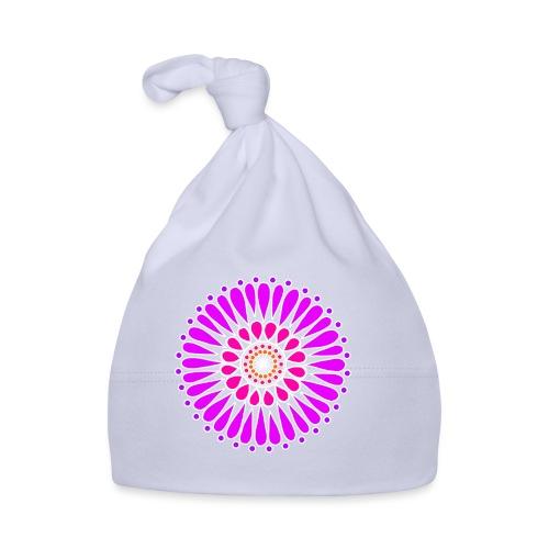 Pink & Purple Sunflower Mandala - Baby Cap