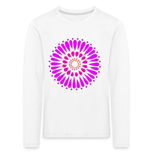 Pink & Purple Sunflower Mandala