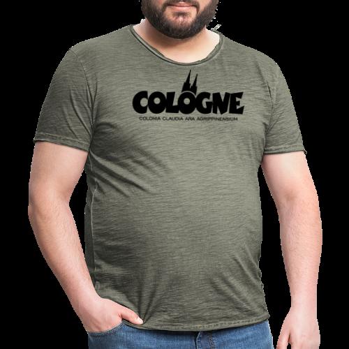 Cologne Colonia Claudia Ara Agrippinensium (Schwarz) Köln Römisch - Männer Vintage T-Shirt