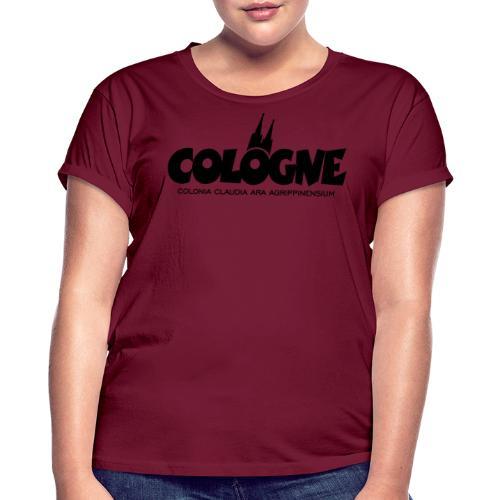 Cologne Colonia Claudia Ara Agrippinensium (Schwarz) Köln Römisch - Frauen Oversize T-Shirt