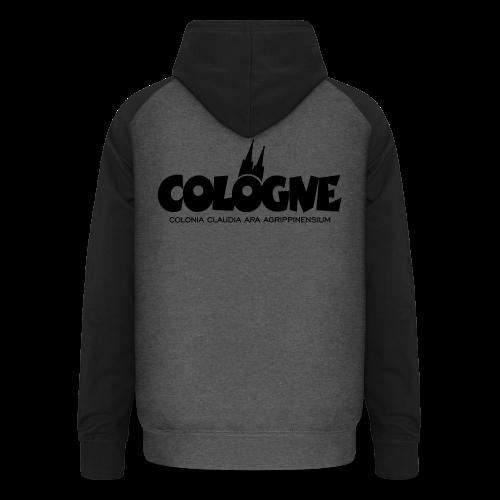 Cologne Colonia Claudia Ara Agrippinensium (Schwarz) Köln Römisch - Unisex Baseball Hoodie