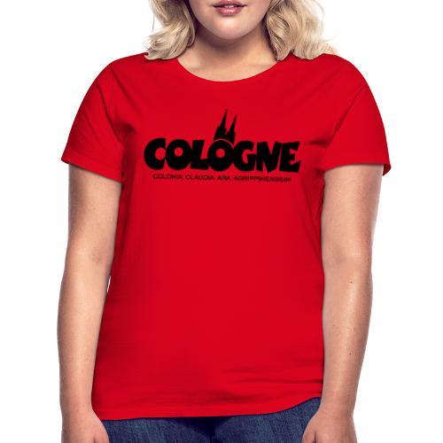 Cologne Colonia Claudia Ara Agrippinensium (Schwarz) Köln Römisch - Frauen T-Shirt